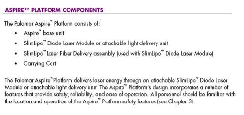 Componentes y recursos Aspire